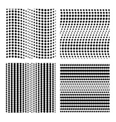 Backdrop of dots collection dot seamless vector