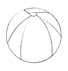 Ball icon image vector