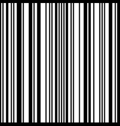 bar code seamless pattern vector image