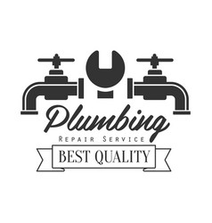 Best quality plumbing repair and renovation vector