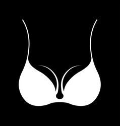 bra icon concept for design vector image