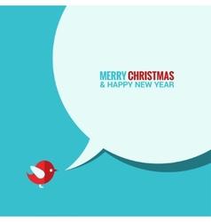 christmas social media concept background vector image