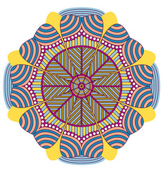 decorative vintage mandala vector image