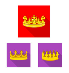 Design medieval and nobility icon vector