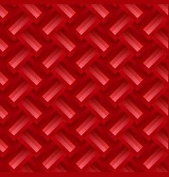 Gradient seamless zig-zag stripe pattern vector