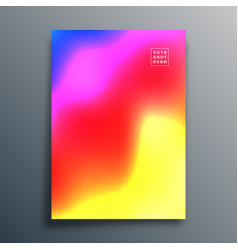 gradient texture template design for background vector image