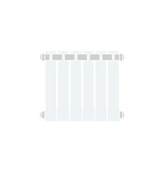 Icon of radiator vector