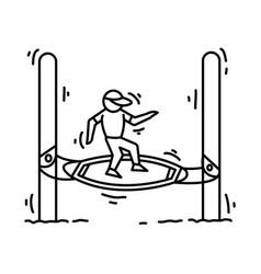 playground kids boogle vector image