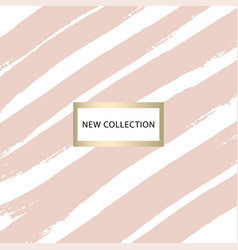 Set of new collection fashion headers gold and vector