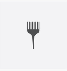 simple comb icon vector image