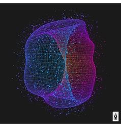 Abstract Polygonal Futuristic Design vector