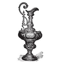 Americas trophy vintage vector