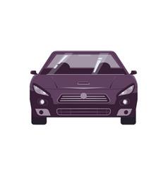 automobile flat vector image
