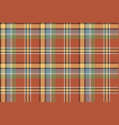 Brown yellow check plaid pixeled seamless texture vector