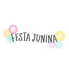 Festa junina - brazilian june festival vector