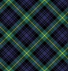 Gordon tartan fabric textile check pattern vector