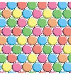 Seamless pattern with colorful candy vector