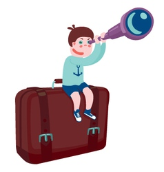 Travel and adventure vector image