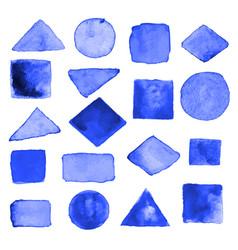 Watercolor geometric design elements13 vector