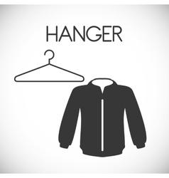 Hanger design vector image vector image
