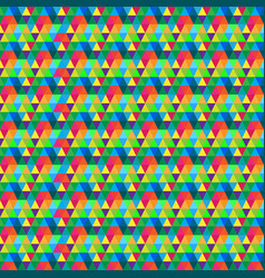 seamless colorful pattern background vector image vector image