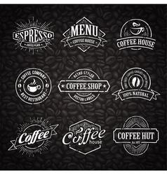 Coffee Shop Emblems 3 vector image