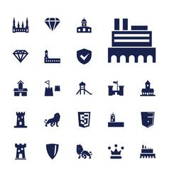 22 royal icons vector