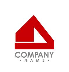 abstract realty logo - logo concept vector image