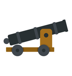 Cannon icon isolated vector