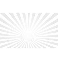 Pop art colorful rays background white rays vector