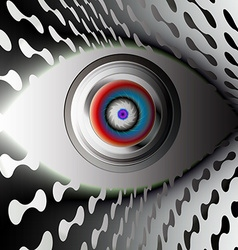 The Camera Eye vector image