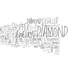 Why jewelry stores dislike knowledgeable vector