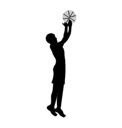 basketball player icon image vector image vector image