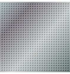 chrome grid vector image vector image