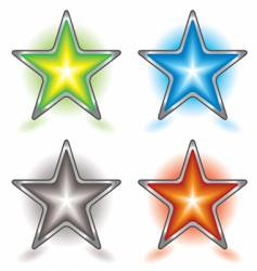 star foursome vector image vector image