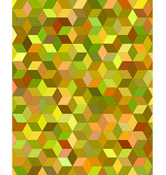 3d cube mosaic background design vector
