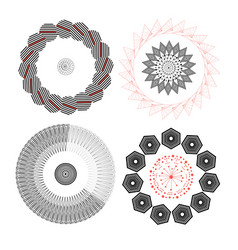 abstract elements vector image