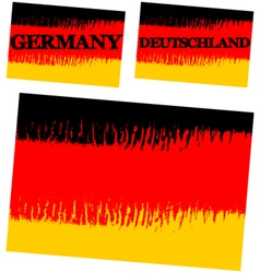 Abstract flag of Germany vector