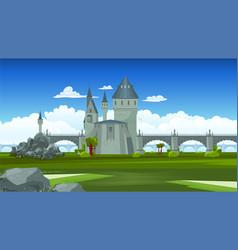 Bridges colored composition vector