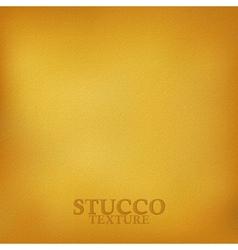 Ochre stucco texture vector