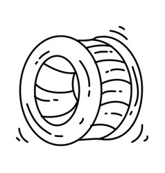 playground kids giant roller vector image