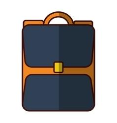 school backpack baggage vector image