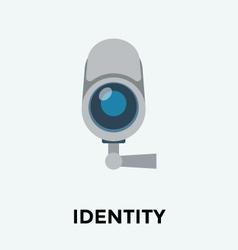 Security Camera Icon vector image