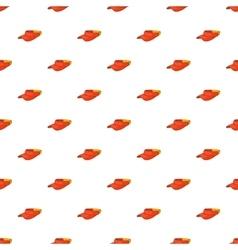 Sun cap pattern cartoon style vector