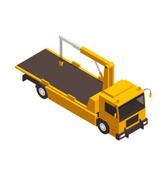 Tow truck icon vector