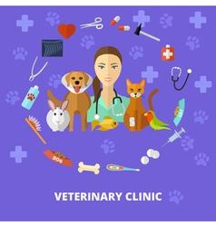 Veterinary3 vector image