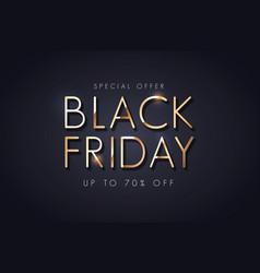 black friday sale background 2 vector image