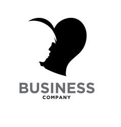 Children consultation care love logo designs vector
