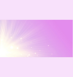 elegant glowing rays background with light beam vector image