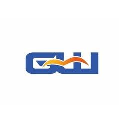GW letter logo vector image